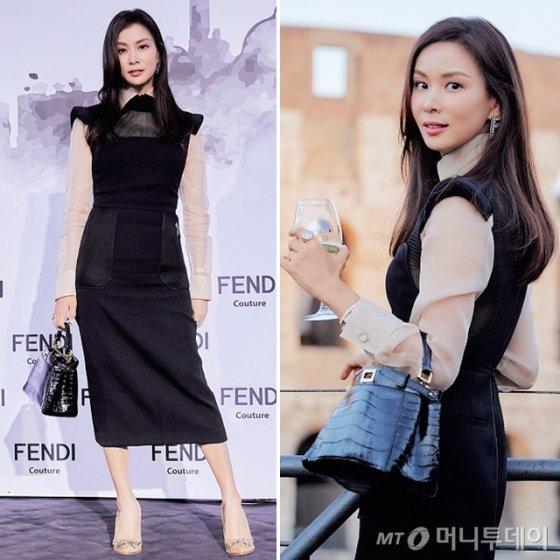 배우 고소영 /사진제공=펜디