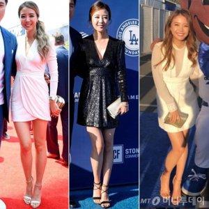 배지현 '깊은 브이넥 드레스+클러치' 즐겨…일상 패션은?