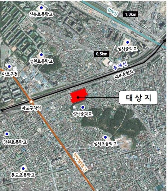 대상지 위치도 /사진제공=서울시