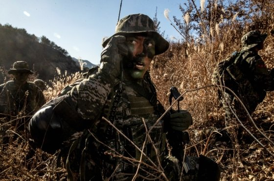 해병대 수색대원들의 훈련 모습 / 사진제공 = 해병대