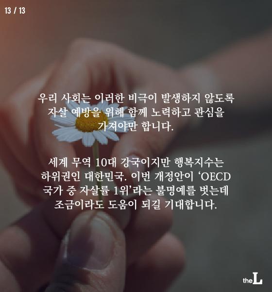 """[카드뉴스] """"자살 유도 강력 처벌""""…온라인 글 제재"""