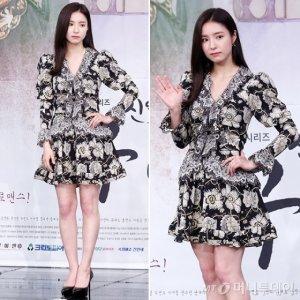 '신입사관 구해령' 신세경, 플로럴 원피스 패션…오늘은 '시크'