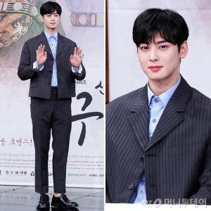 '신입사관 구해령' 차은우, 숏재킷 슈트 패션…매력 '물씬'