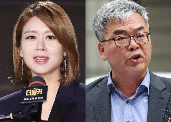 손정은 아나운서와 박훈 변호사/사진=뉴스1