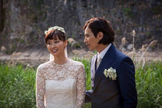 원빈 이나영 부부 결혼식/사진제공=이든나인