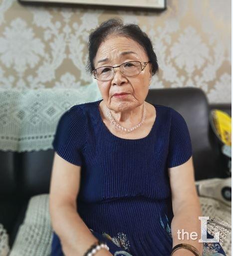 황완열(88) 전북 정읍거주. 일제 후지코시 강제징용 피해자/사진=유동주 기자