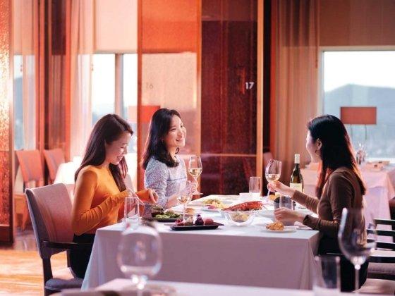 인터컨티넨탈 서울 파르나스 호텔 테이블34. /사진=인터컨티넨탈 서울 파르나스