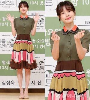 '리틀 포레스트' 정소민, 발랄한 원피스룩…미모 '눈길'