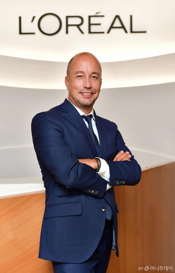 로레알코리아 크리스티앙 마르코스 아르나이 대표 /사진제공=로레알코리아