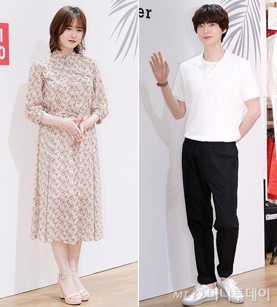 배우 구혜선, 안재현 부부/사진=김창현 기자