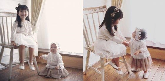 유진-기태영 부부 첫째 딸 로희와 둘째 딸 로린/사진=유진 인스타그램
