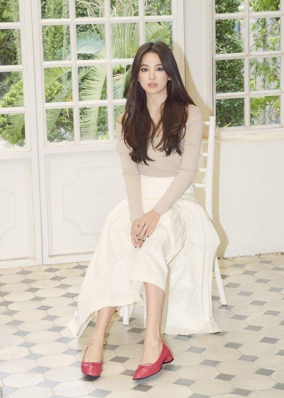 배우 송혜교/사진제공=슈콤마보니<br>