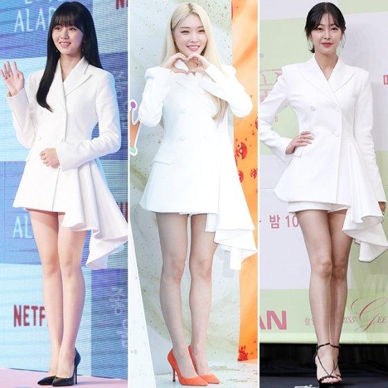 배우 김소현, 가수 청하, 배우 고원희 /사진=머니투데이 DB, 뉴스1