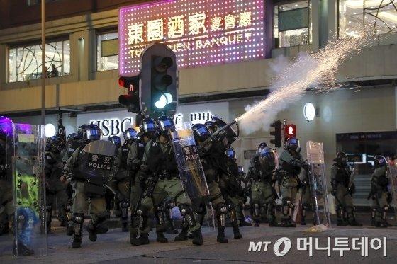 홍콩시위 / 사진제공=ap
