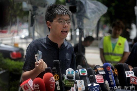 홍콩 대규모 시위의 주역인 10~20대 청년들. /사진= AFP