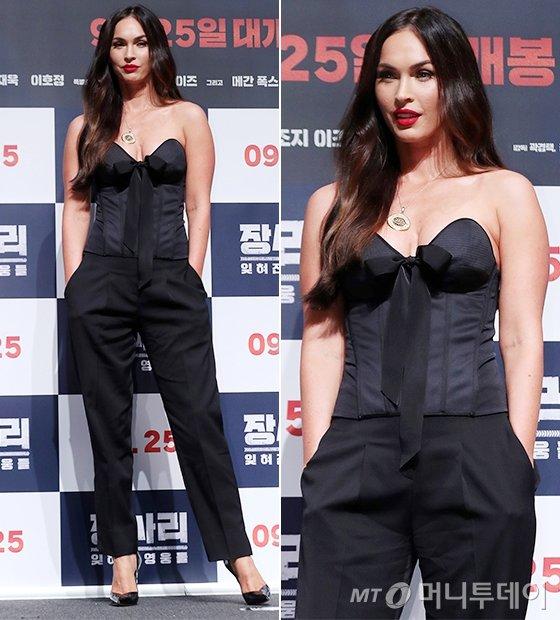 배우 메간 폭스/사진=김휘선 기자
