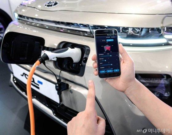 현대기아차, 모바일 기반 전기차 튠업 기술 개발 / 사진제공=현대기아차