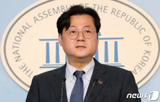 홍익표 더불어민주당 수석대변인/사진=뉴스1