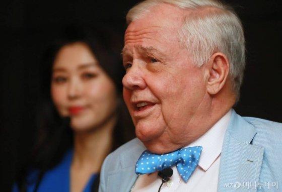 세계적인 투자자로 불리는 로저스 홀딩스 짐 로저스 회장 /사진=이동훈 기자