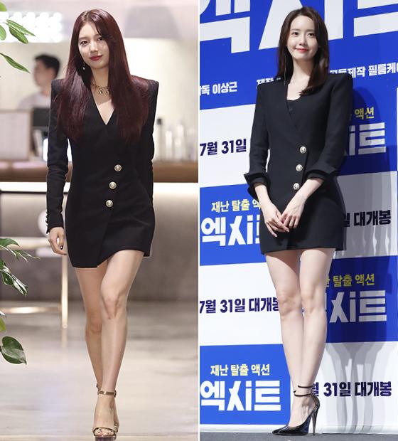 가수 겸 배우 수지, 윤아/사진=임성균 기자, 뉴스1