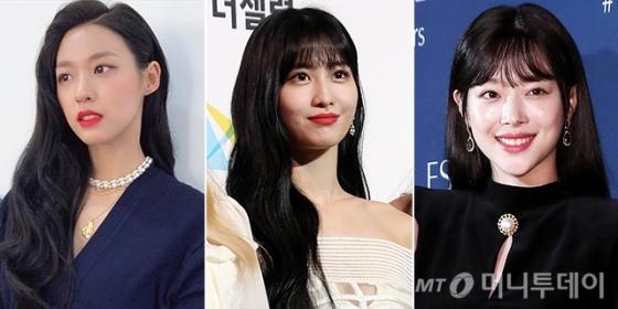 AOA 설현, 트와이스 모모, 가수 겸 배우 설리 /사진=설현 인스타그램, 머니투데이 DB