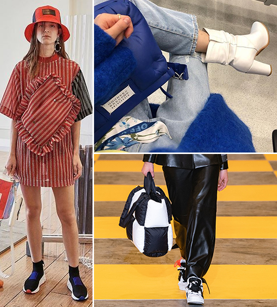 /사진=제이미 웨이 황, 손나은 인스타그램, 오프 화이트