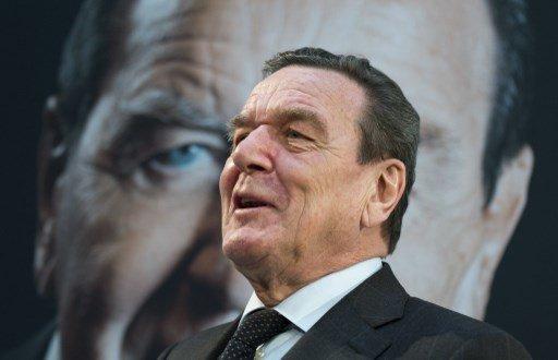 게르하르트 슈뢰더 전 독일 총리/사진=AFP