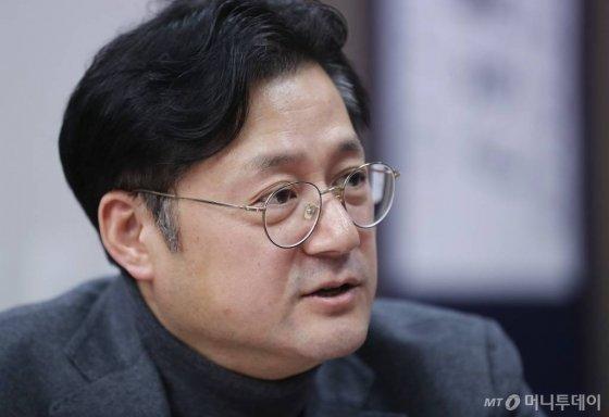 홍익표 더불어민주당 의원./ 사진=이동훈 기자 photoguy@