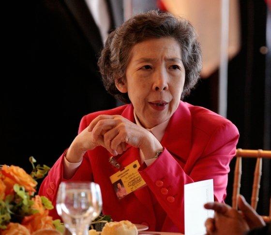 홍콩 최대 식품외식업체 '맥심즈' 창립자의 딸 애니 우 /사진=AFP