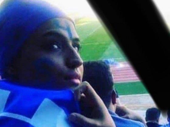 축구 경기장에 들어가려다 체포된 뒤 재판을 앞두고 분신 사망한 사하르 호다야리(30) /사진=트위터