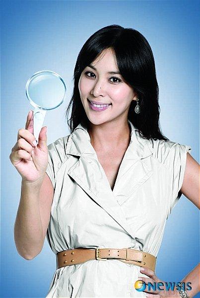 고소영씨의 두부 광고 사진. / 사진 = 뉴시스