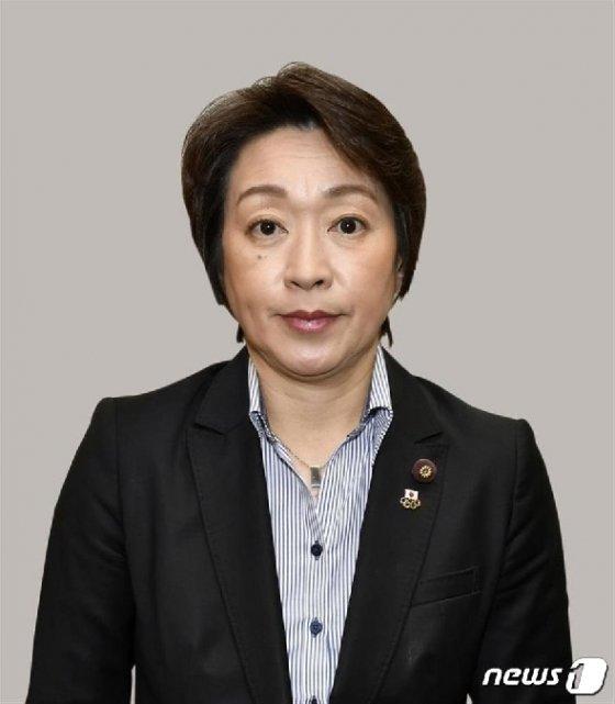 하시모토 세이코 올림픽 담당상 © 뉴스1