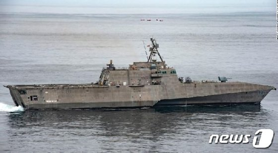 미해군 연안전투함 가브리엘 기퍼즈 호. (미 해군) © 뉴스1