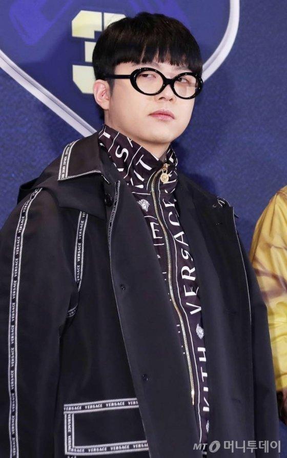 랩퍼 기리보이가 22일 오전 서울 마포구 상암 CJ E&M에서 진행된 Mnet '고등래퍼 시즌 3' 제작발표회에 참석해 포즈를 취하고 있다. 2019-02-22 /사진=김휘선 기자