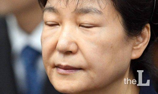 박근혜 전 대통령, 오늘 어깨수술 위해 서울성모병원 입원