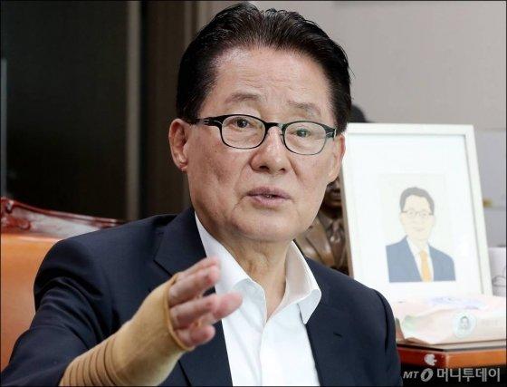 박지원 대안정치연대 의원. / 사진=김창현 기자 chmt@