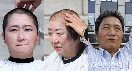 '반(反) 조국 투쟁'에 동참한 야권 인사들. 왼쪽부터 이언주 무소속 의원, 박인숙 자유한국당 의원, 이학재 한국당 의원./사진=머니투데이DB, 뉴스1