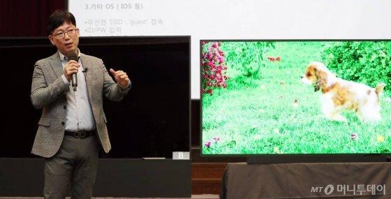 """삼성전자 반격 """"화질선명도 무의미…LG 8K TV, 재생 오류"""" - 머니투데이 뉴스"""