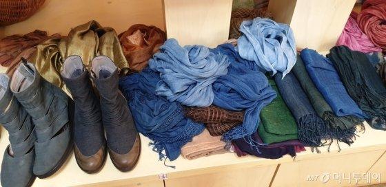스카프와 신발=사진=머니투데이