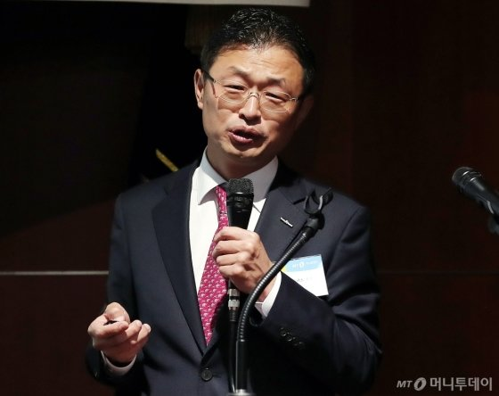 [사진]'머니투데이-IPO컨퍼런스' 참석한 황만순 상무