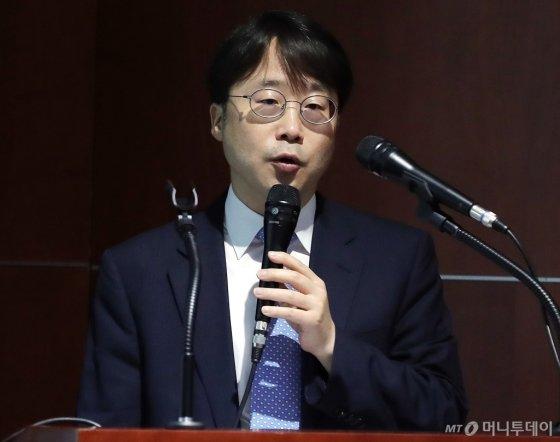[사진]'IPO컨퍼런스' 발표하는 강병모 팀장