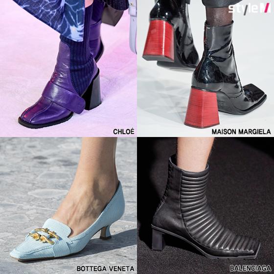 /사진=끌로에, 메종 마르지엘라, 보테가 베네타, 발렌시아가 2019 F/W 컬렉션