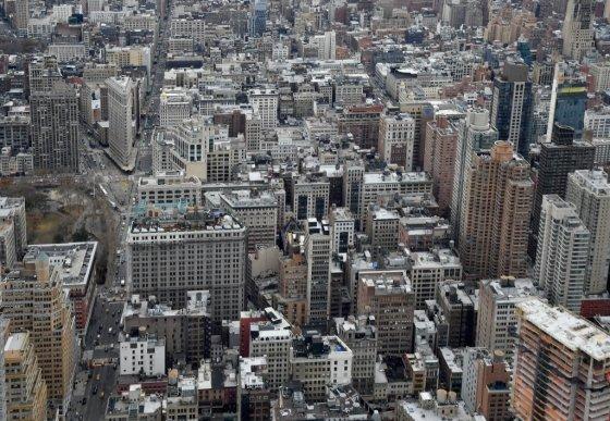 미국 뉴욕 맨해튼 중심부. /사진=AFP
