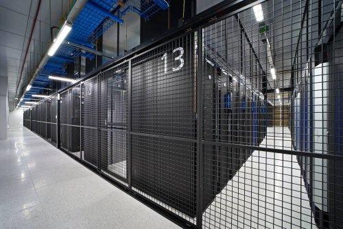 삼성SDS 춘천 데이터센터 서버룸/사진=삼성SDS