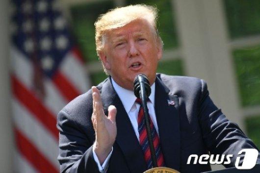 도널드 트럼프 미국 대통령 /사진=뉴스1