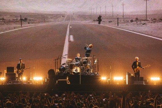 U2의 월드투어 '조슈아 트리'(The Joshua Tree Tour) ⓒDanny North