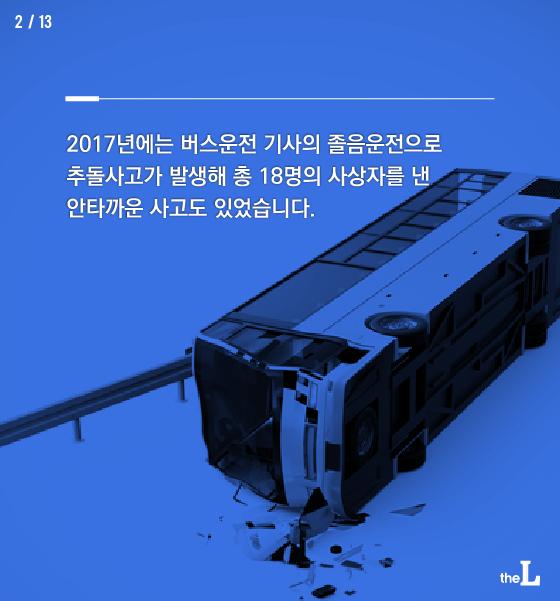 [카드뉴스] 대형사고 위험 화물차 졸음운전 막자!