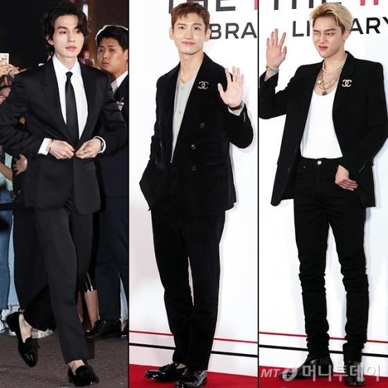 배우 이동욱, 그룹 동방신기 최강창민, 모델 권현빈 /사진=임성균 기자