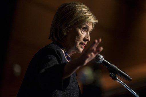 힐러리 클린턴 전 미국 국무장관 /사진=AFP