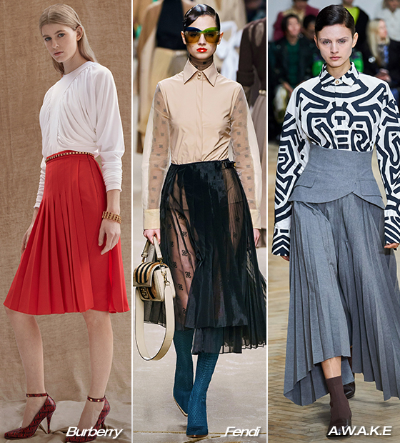 Burberry 2019 Pre-fall 컬렉션, Fendi, A.W.A.K.E Mode 2019 F/W 컬렉션/사진=각 브랜드